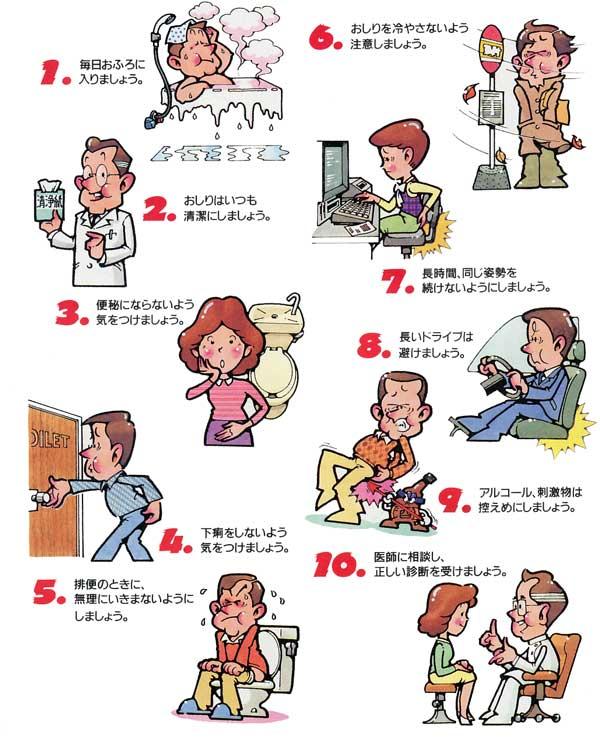 痔を予防する為の10ポイント